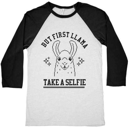 Llama Take A Selfie