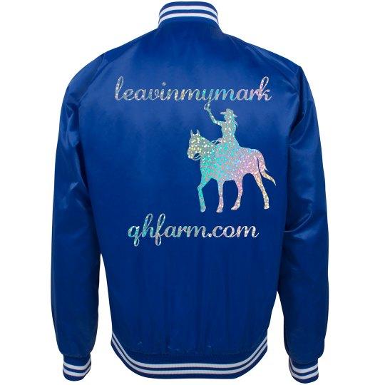 LMM #179 silver glitter jacket