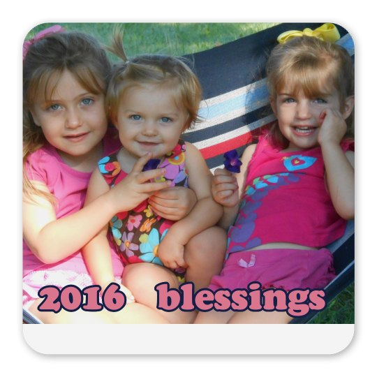 LMM #98 2016 blessings magnet