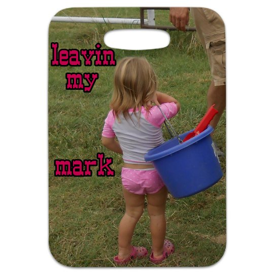 LMM#136 Cowgirls love feed buckets better than purses