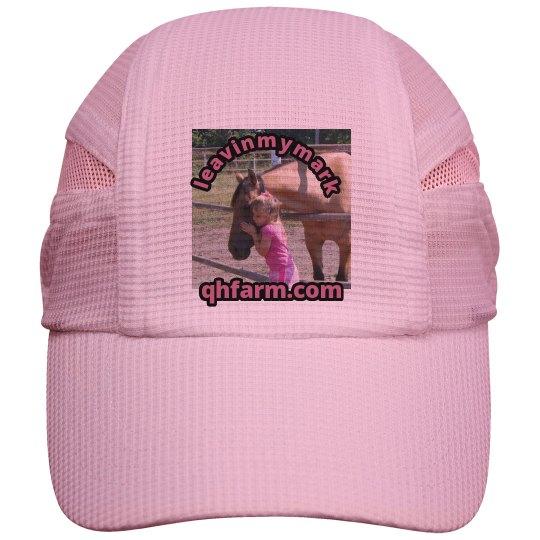 LMM#25 love my horse  running cap