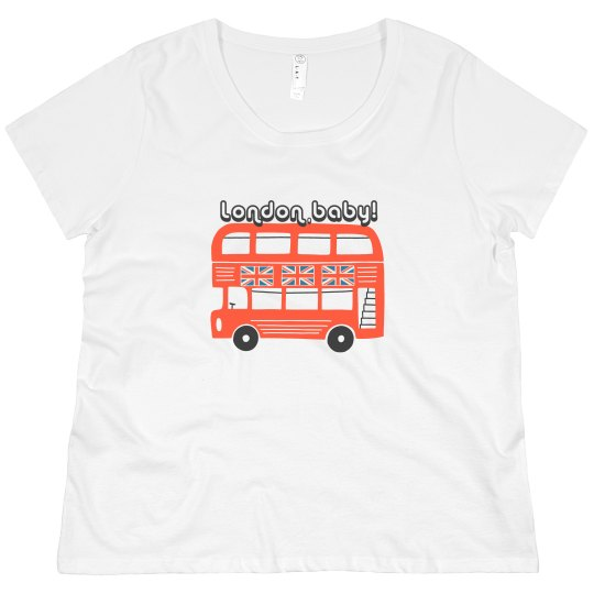 London, Baby! | Women's Curvy Tee