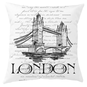 London Pillow Cover