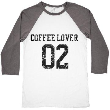 LONG SLEEVE COFFEELOVER CROP TOP