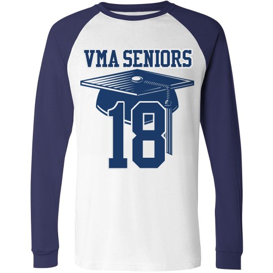 Long sleeve Senior year Tee