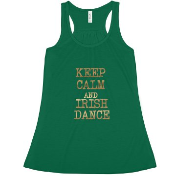 Loose Racerback Irish Dance Tank