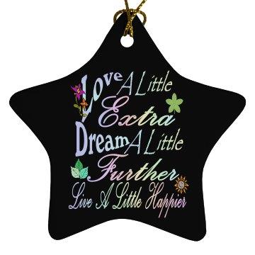Love A Little Extra Star