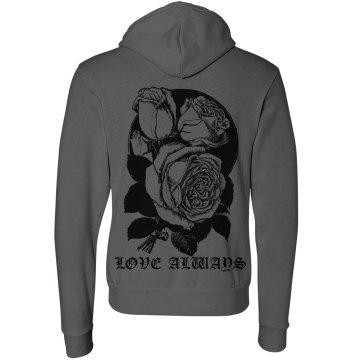 Love Always Rose Hoodie