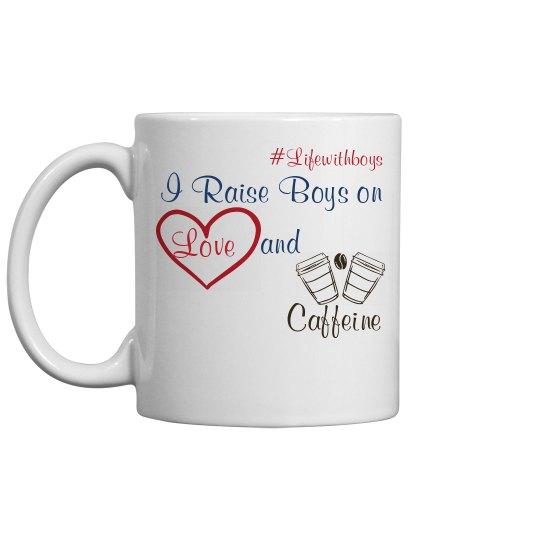 Love and Caffeine Mug