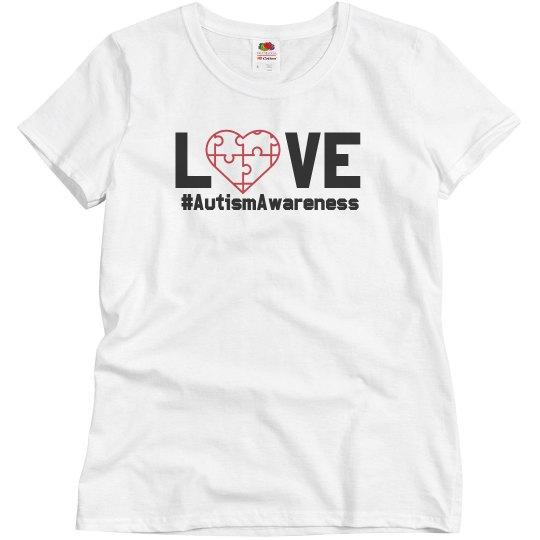 Love Autism Charity Tee