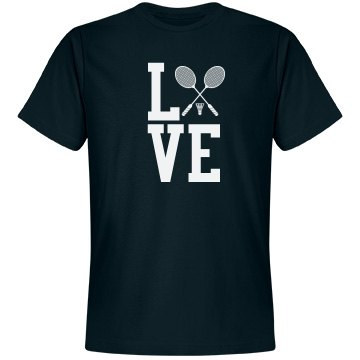 Love Badminton Shirt