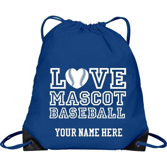 Love custom mascot baseball