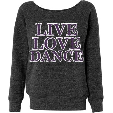 Love Dance Distressed