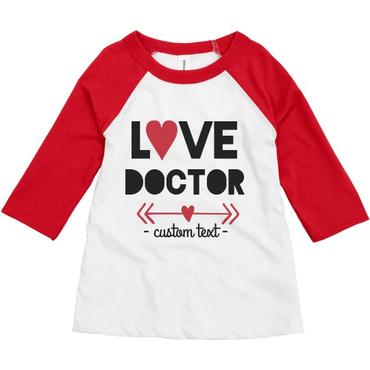 Love Doctor Valentine's Toddler