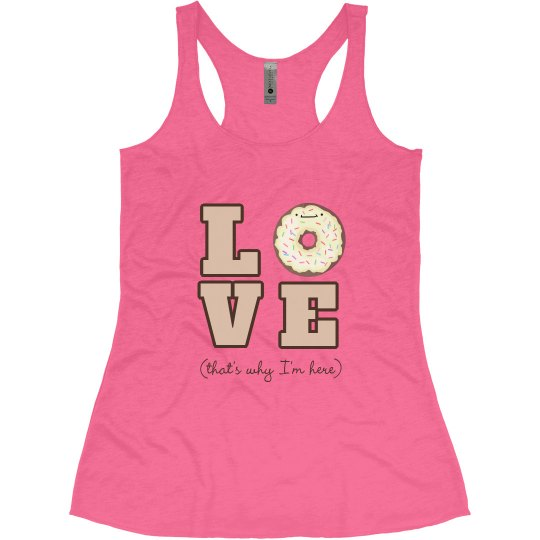 LOVE Donuts Workout Tank