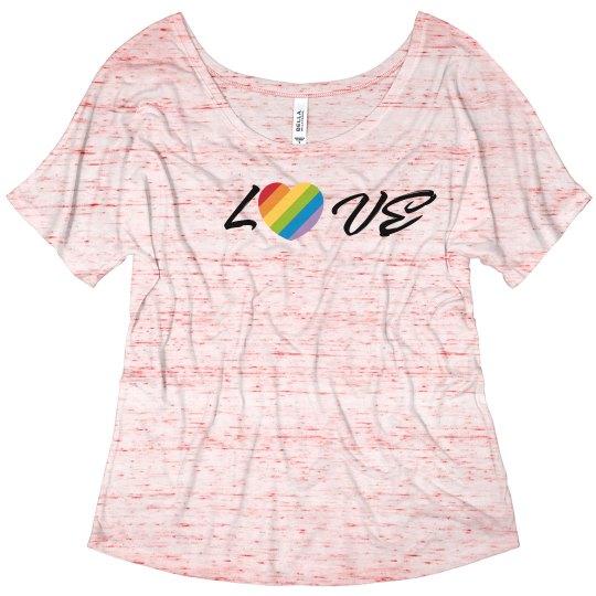 Love Flowy T-Shirt