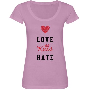 Love Kills Hate Tee