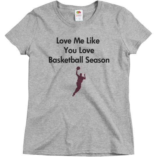love me like basketball
