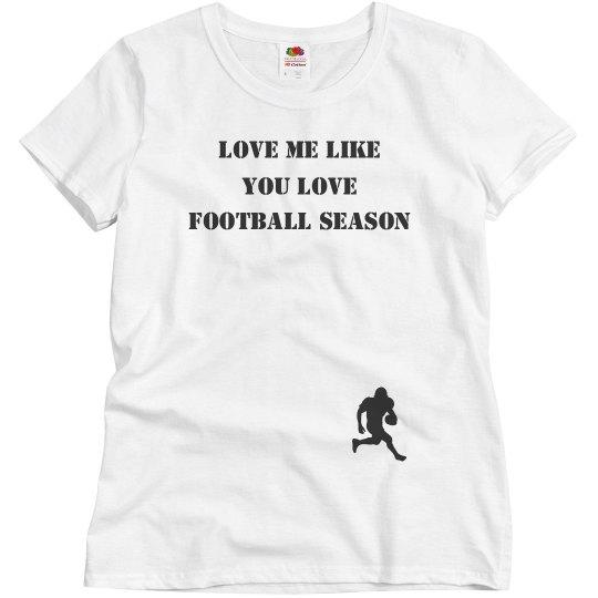 love me like football