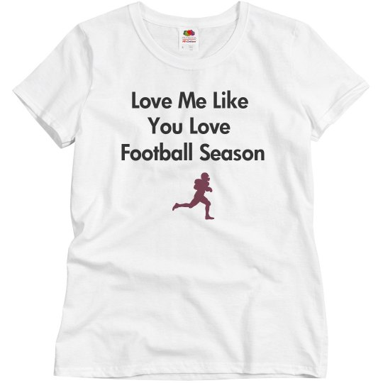 love me like football