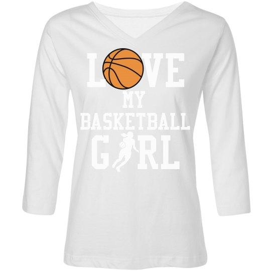 Love My Basketball Girl