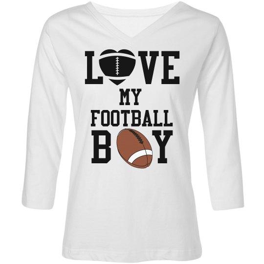Love My Football Boy