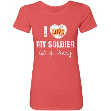 Love My Soldier Tee