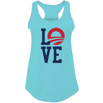 Love Obama Tank
