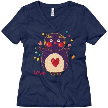Love Owl on Navy