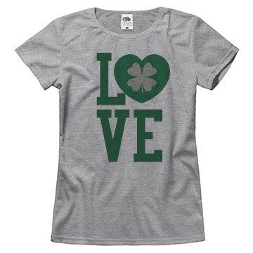 Love St. Pattys Day Custom Shirt
