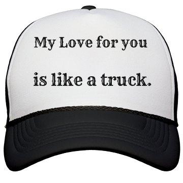 Love Truck hat