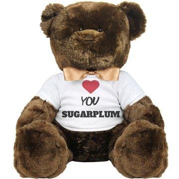 love u sugarplum