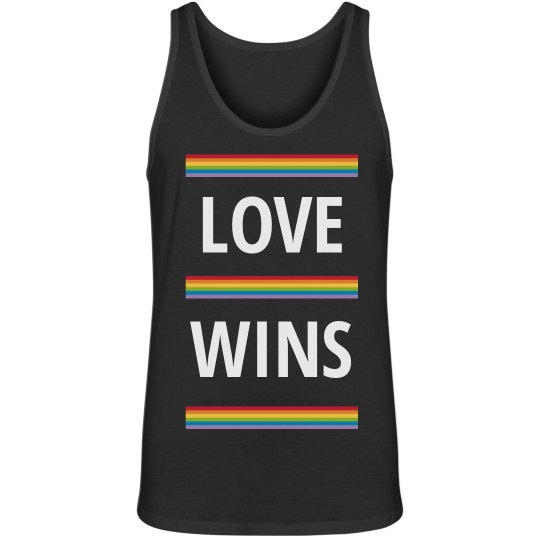 Love Wins Men's Tank