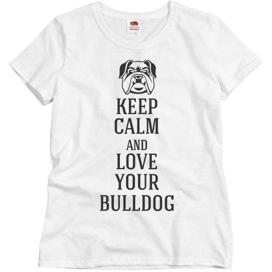Love your bulldog