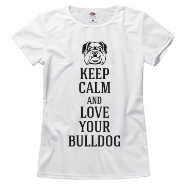 Love your bulldog