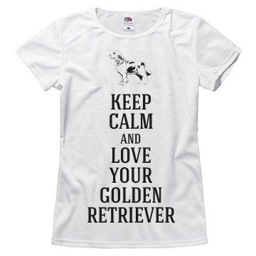 Love your golden retrieve