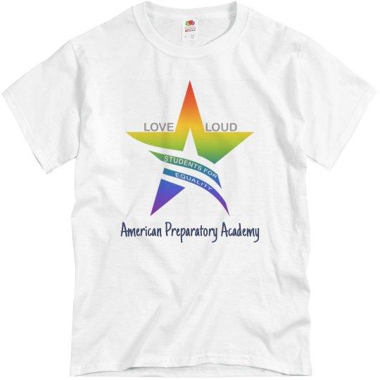 Loveloud shirt 2