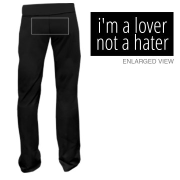 Lover, Not a Hater