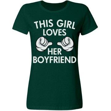 Loves Her boyfriend