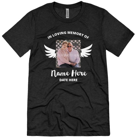 Loving Memory Grandparents Shirt