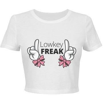 Lowkey Freak crop