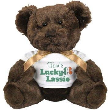Lucky Lassie Irish Flag