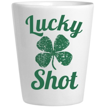 Lucky Shot Shamrock St Pattys