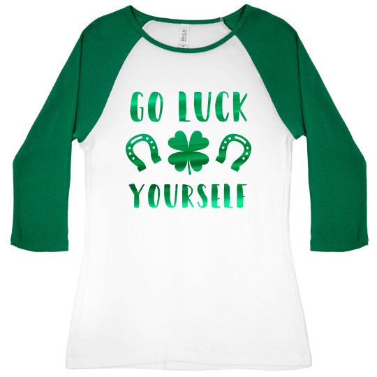 Lucky St. Patrick's Day Sassy Green