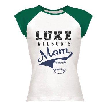 Luke's Baseball Mom w/ Bk