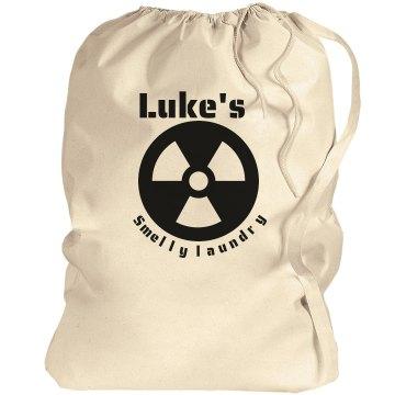Luke's smelly laundry!