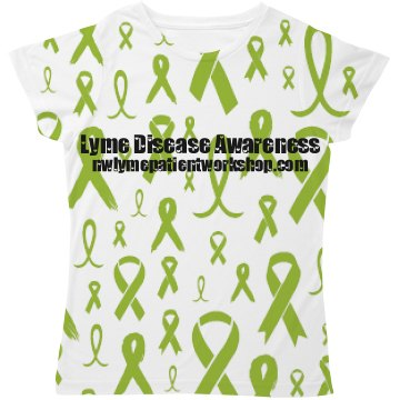 Lyme Ribbon All Over