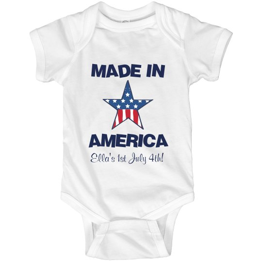 Made In America Bodysuit