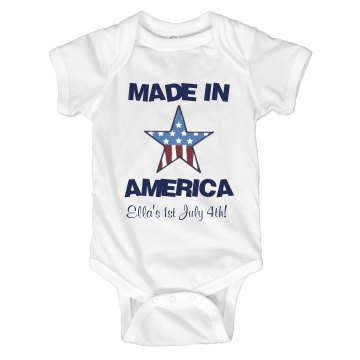 Made In America Onesie