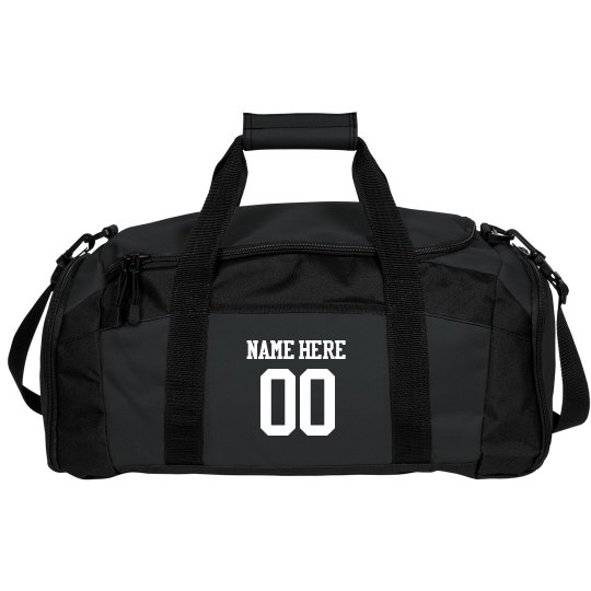 Made to Order Name, Number, School Name Duffel Bag